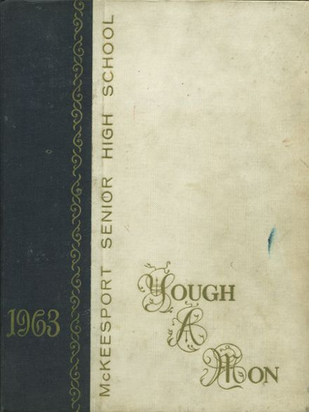1963 McKeesport High School Yearbook Cover
