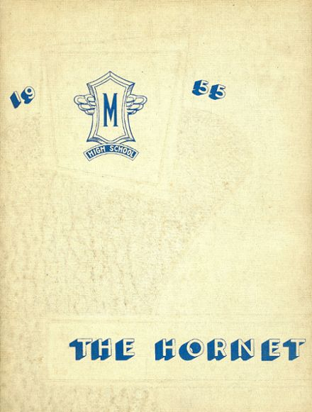 1955 Moline High School Yearbook Cover