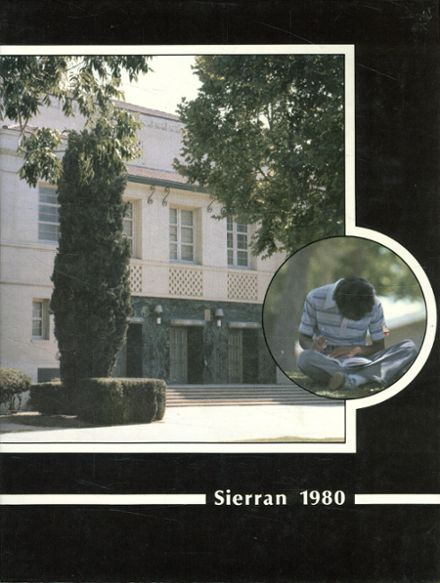1980 East Bakersfield High School Yearbook Cover