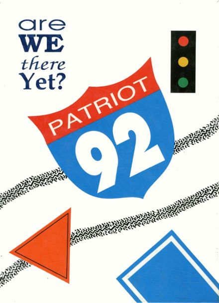 1992 Wheeling Park High School Yearbook Cover