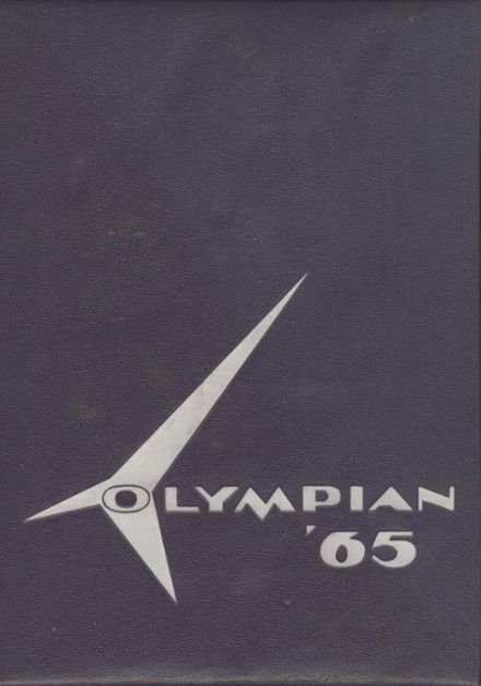 1965 O'Dea High School Yearbook Cover