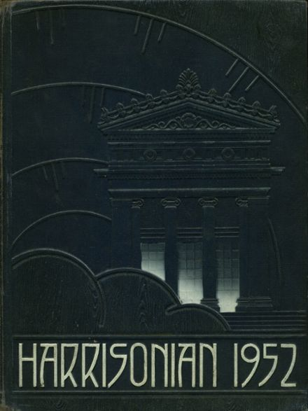 1952 Harrison Technical High School Yearbook Cover