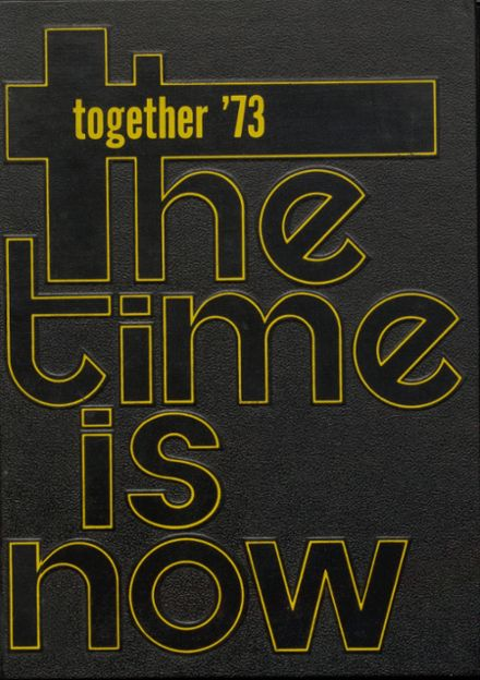 1973 King's Garden High School Yearbook Cover