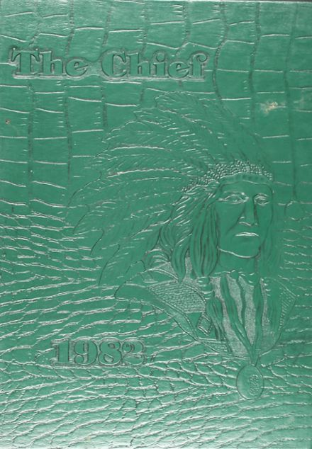 1982 Waxahachie High School Yearbook Cover
