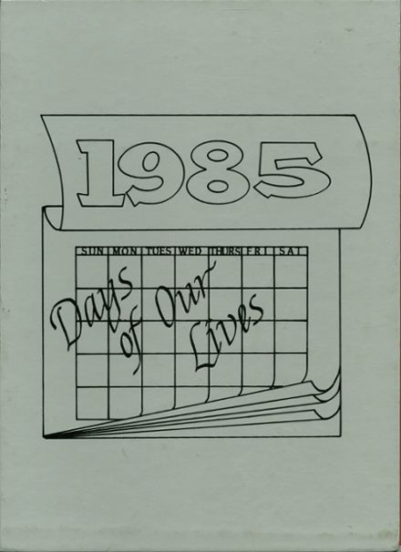 1985 Gladwin High School Yearbook Cover