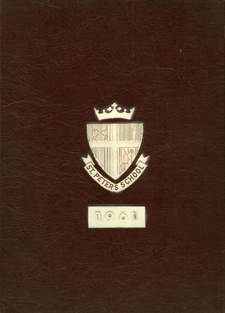 1961 St. Peter's School for Boys Yearbook Cover