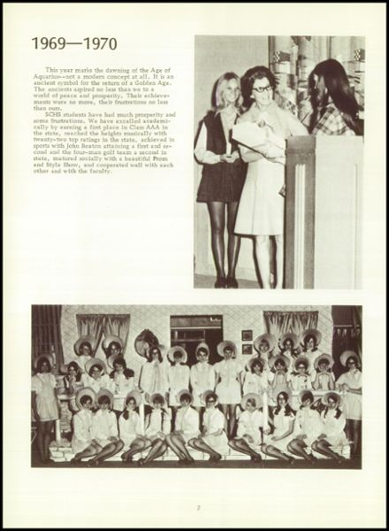 1970 Scott High School Yearbook Page 6
