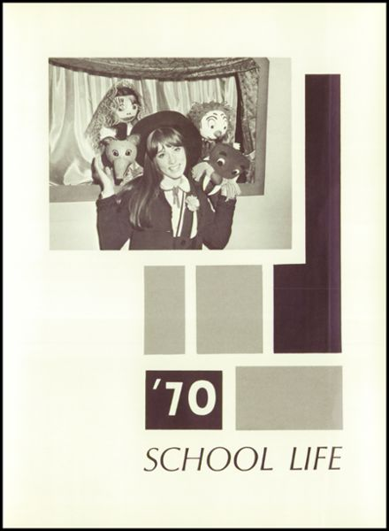 1970 Scott High School Yearbook Page 9