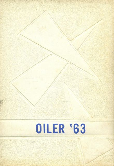 1963 Heidelberg High School Yearbook Cover