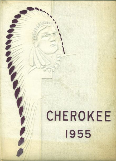 1955 Sequoia High School Yearbook Cover