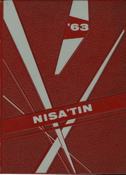 1963 Goffstown High School Yearbook Cover