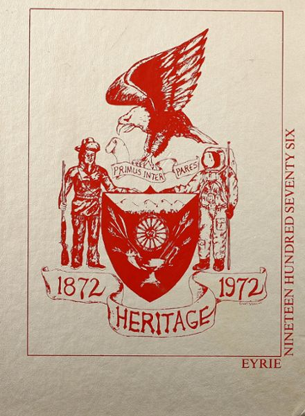 1976 Heritage High School Yearbook Cover
