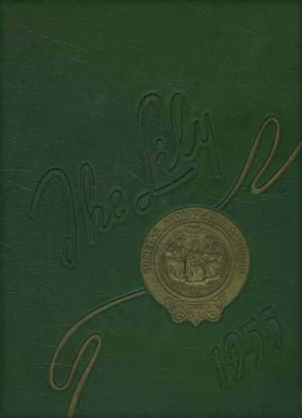 1955 St. Joseph's High School Yearbook Cover