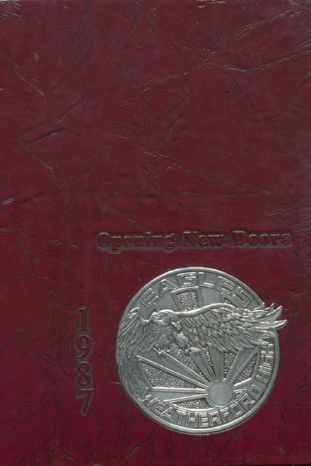 1987 Weatherford High School Yearbook Cover