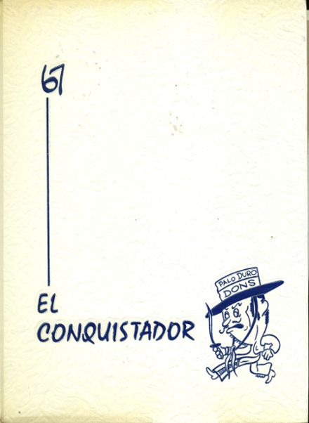 1967 Palo Duro High School Yearbook Cover