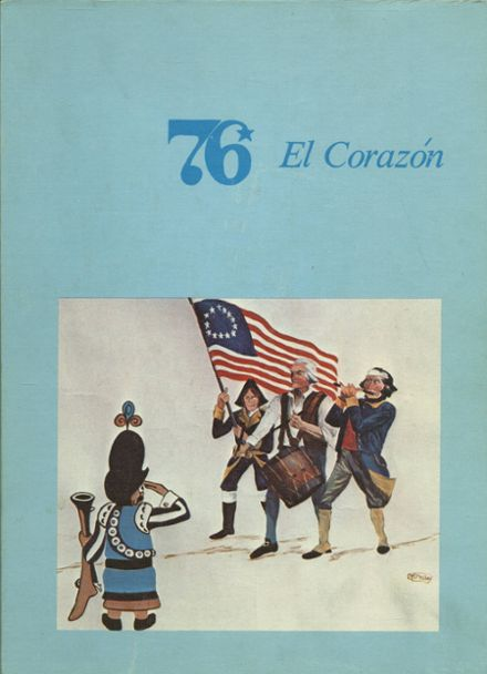 1976 El Camino Real High School Yearbook Cover