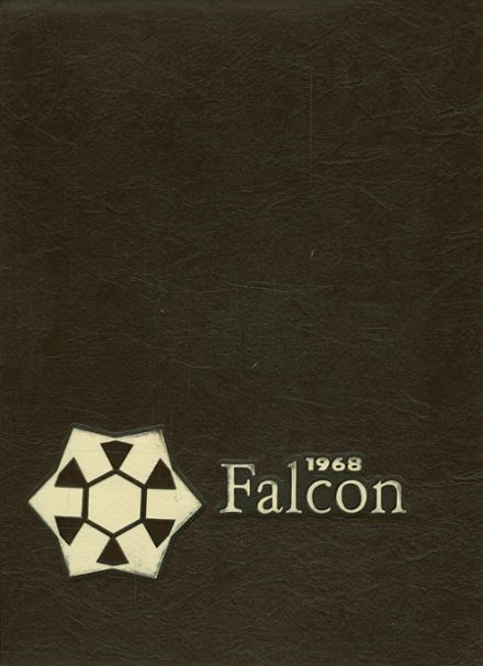 1968 Fairmont East High School (1965-1983) Yearbook Cover