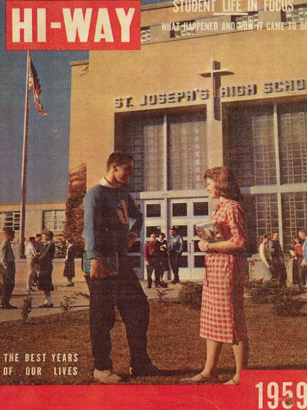 1959 St. Joseph's High School Yearbook Cover
