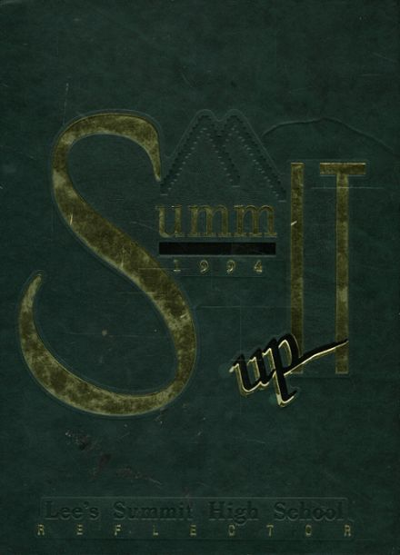 1994 Lees Summit High School Yearbook Cover