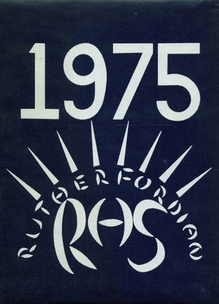 1975 Rutherford High School Yearbook Cover