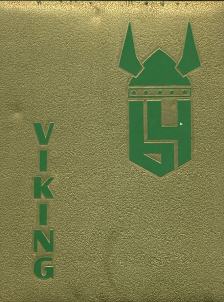 1964 Kingsburg High School Yearbook Cover