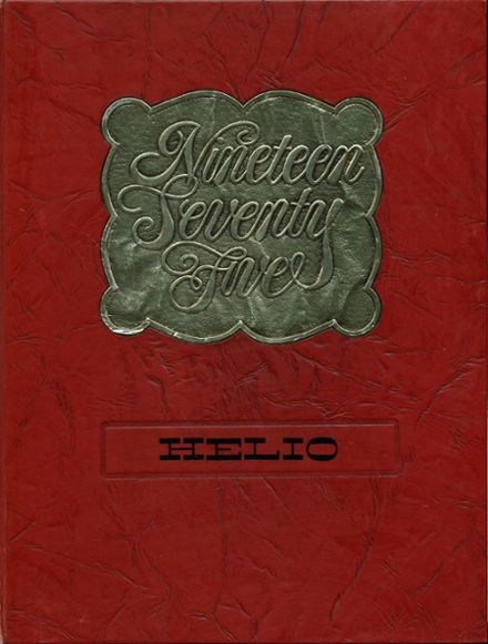 1975 Taylor High School Yearbook Cover