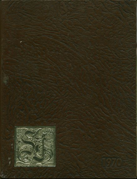 1970 South Fayette High School Yearbook Cover