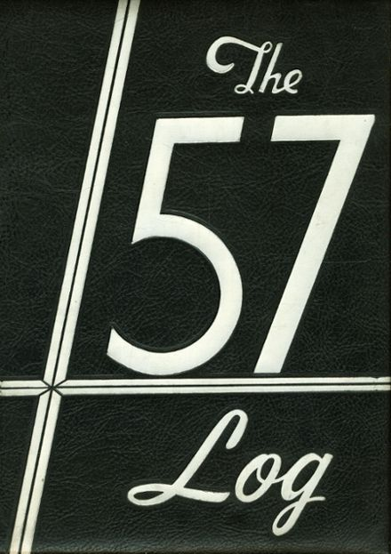 1957 Hudson High School Yearbook Cover