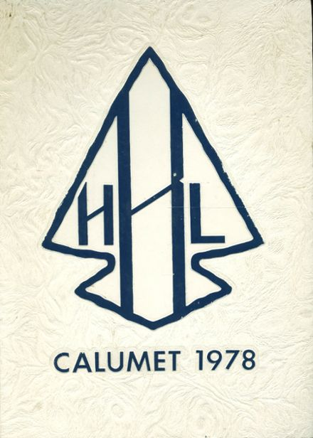 1978 H. L. Bourgeois High School Yearbook Cover