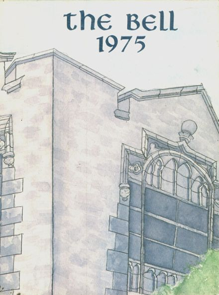 1975 St. Mary's High School Yearbook Cover
