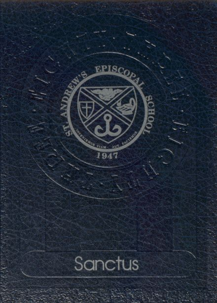 1983 St. Andrew's Episcopal High School Yearbook Cover