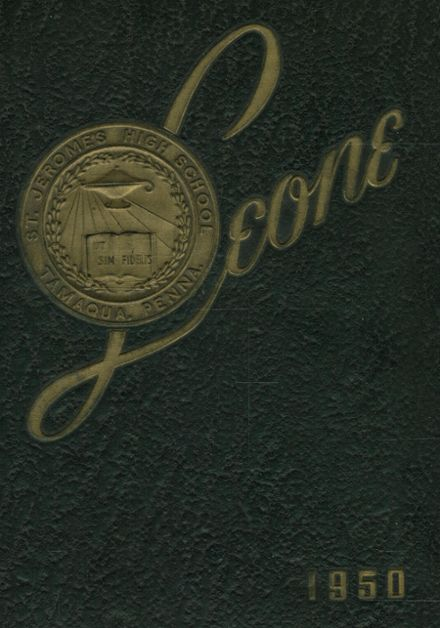 1950 St. Jerome's Catholic High School Yearbook Cover