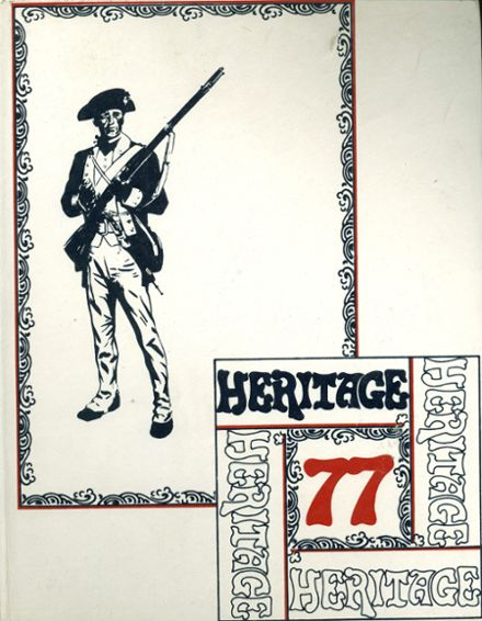 1977 Red Land High School Yearbook Cover