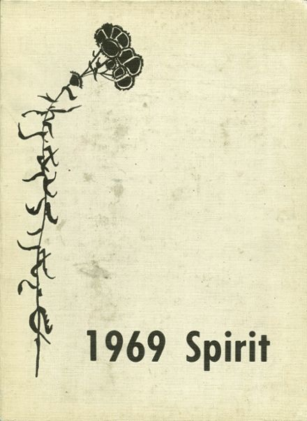 1969 Ames High School Yearbook Cover
