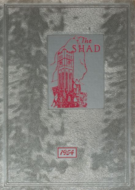 1954 Shattuck - St. Mary's School Yearbook Cover