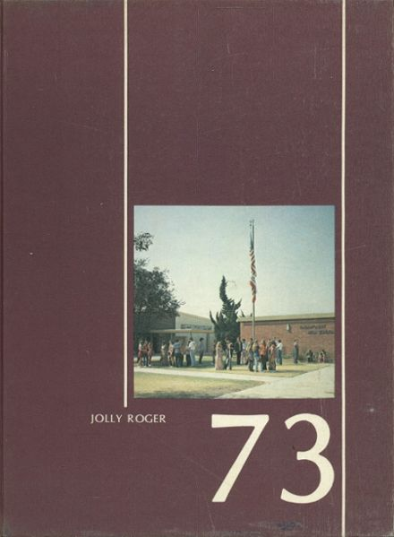 1973 Paramount High School Yearbook Cover