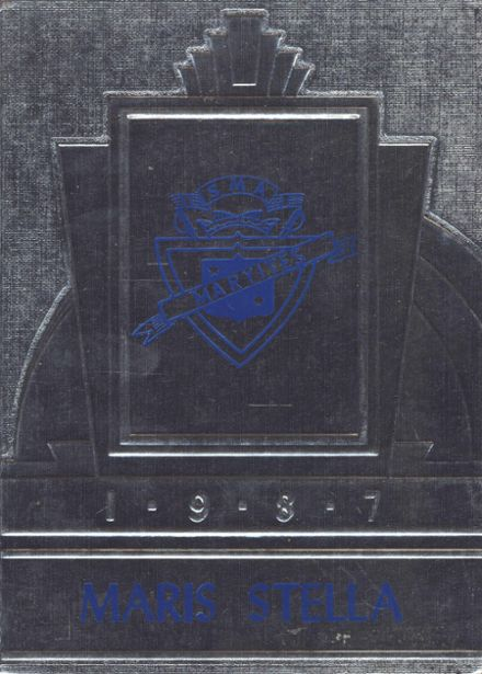 1987 St. Mary's Academy Yearbook Cover