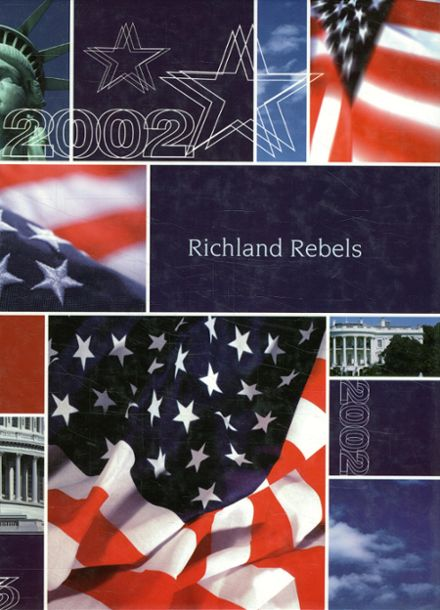 2002 Richland High School Yearbook Cover
