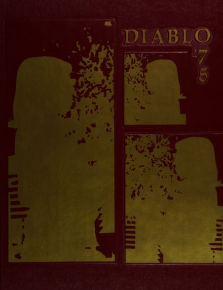 1975 Mt. Diablo High School Yearbook Cover