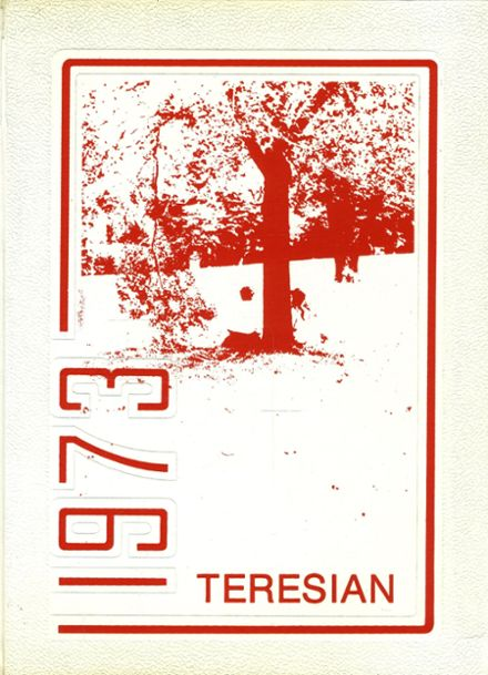 1973 St. Teresa's Academy Yearbook Cover