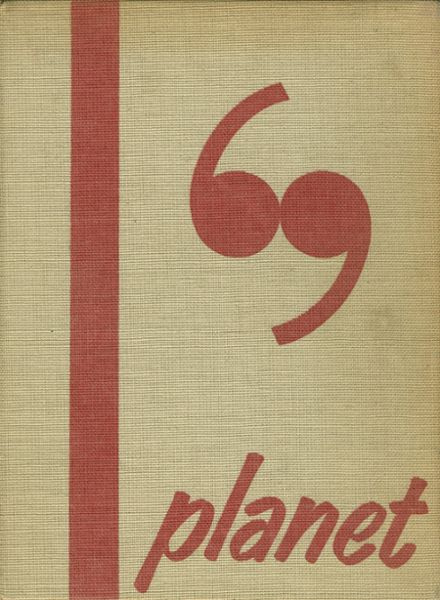 1969 Mars High School Yearbook Cover