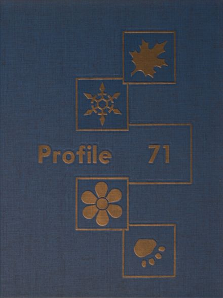 1971 Kennedy High School Yearbook Cover