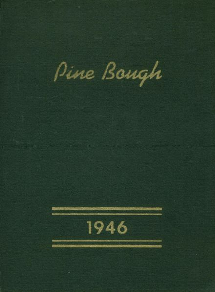 1946 Spooner High School Yearbook Cover
