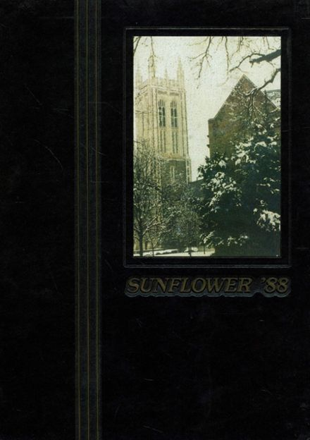 1988 Topeka High School Yearbook Cover