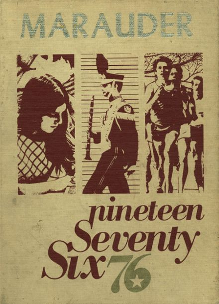 1976 Meigs High School Yearbook Cover