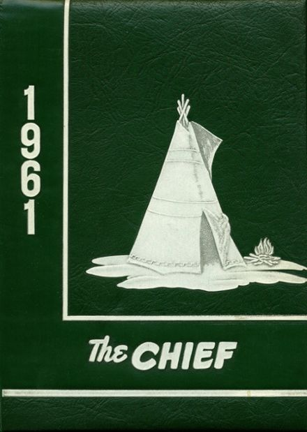 1961 Greenville High School Yearbook Cover