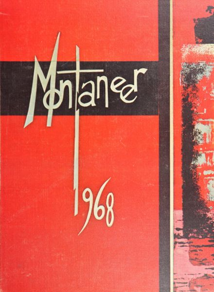 1968 Mt. Pleasant High School Yearbook Cover