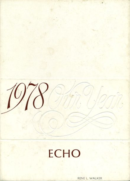 1978 Vassar High School Yearbook Cover