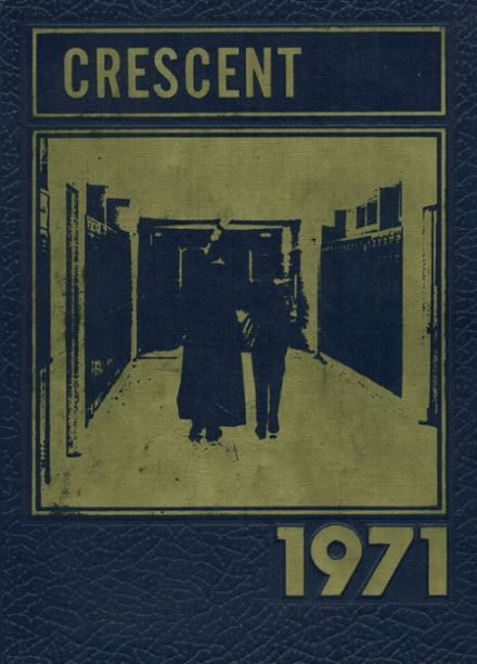 1971 Notre Dame High School Yearbook Cover