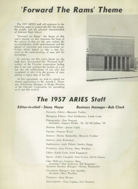 1957 Suitland High School Yearbook Page 6